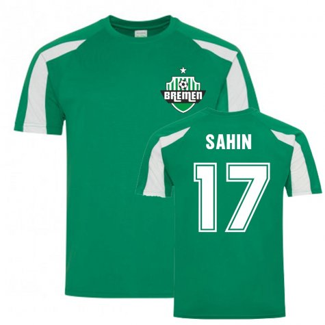 Nuri Sahin Bremen Sports Training Jersey (Green)
