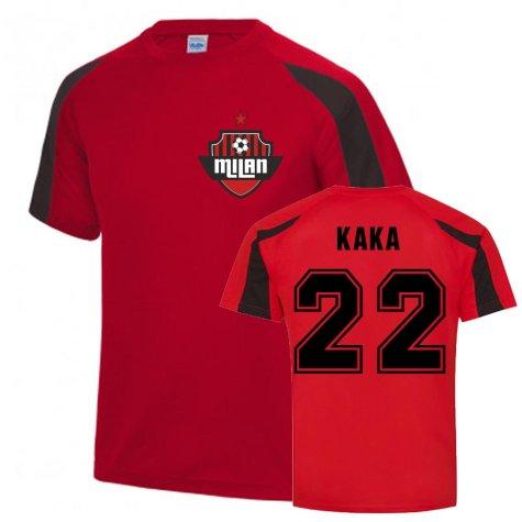 Kaka Milan Sports Training Jersey (Red)