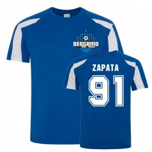 Duvan Zapata Atalanta Sports Training Jersey (Blue)