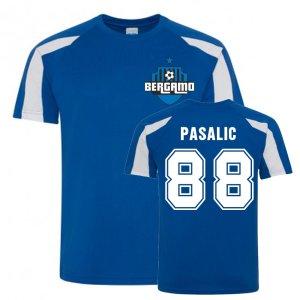 Mario Pasalic Atalanta Sports Training Jersey (Blue)