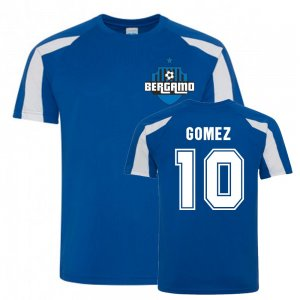Papu Gomez Atalanta Sports Training Jersey (Blue)