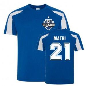Alessandro Matri Brescia Sports Training Jersey (Blue)