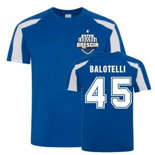 Mario Balotelli Brescia Sports Training Jersey (Blue)
