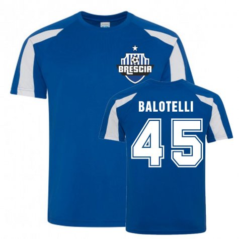 Mario Balotelli Brescia Sports Training Jersey (Blue)