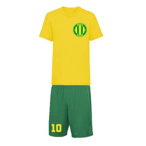 Personalised Norwich Training Kit