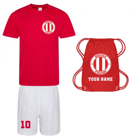 Personalised Sheffield Training Kit Package