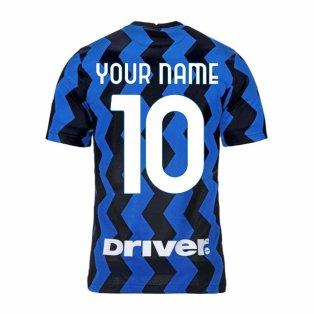 2020-2021 Inter Milan Home Nike Football Shirt (Kids) (Your Name)
