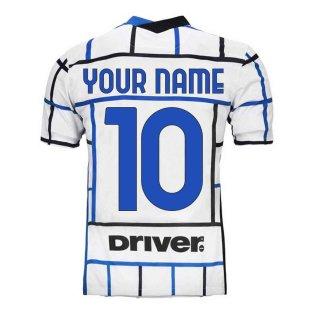 2020-2021 Inter Milan Away Nike Football Shirt (Your Name)