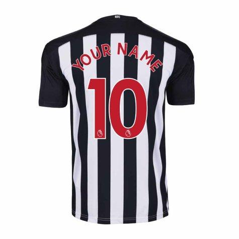 2020-2021 Newcastle Home Football Shirt (Kids) (Your Name)
