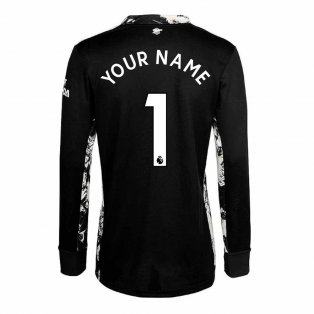 2020-2021 Arsenal Adidas Home Goalkeeper Shirt (Your Name)