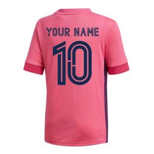 2020-2021 Real Madrid Adidas Away Shirt (Kids) (Your Name)