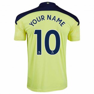 2020-2021 Newcastle Away Football Shirt (Kids) (Your Name)