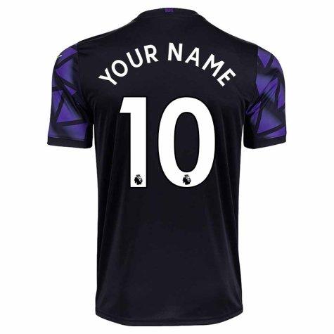 2020-2021 Newcastle Third Football Shirt (Kids) (Your Name)