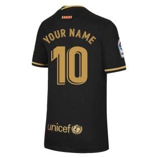 2020-2021 Barcelona Away Nike Shirt (Kids) (Your Name)