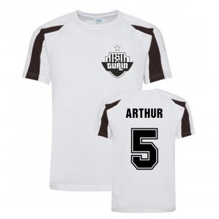Arthur Juventus Sports Training Jersey (White)