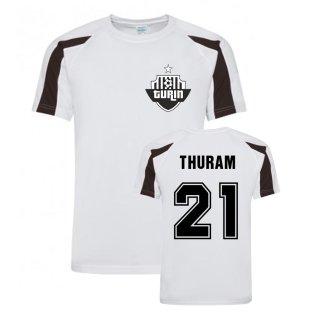 Lilian Thuram Juventus Sports Training Jersey (White)
