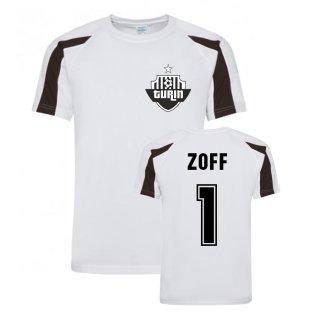 Dino Zoff Juventus Sports Training Jersey (White)
