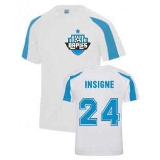 Lorenzo Insigne Napoli Sports Training Jersey (White)