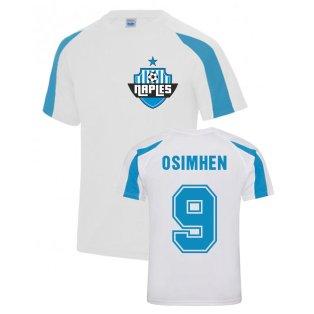 Victor James Osimhen Napoli Sports Training Jersey (White)