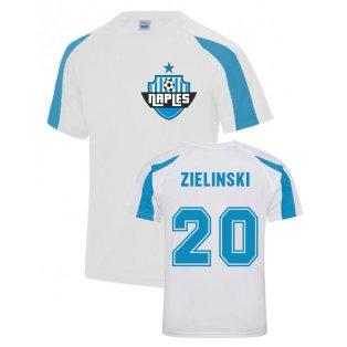 Piotr Zielinski Napoli Sports Training Jersey (White)