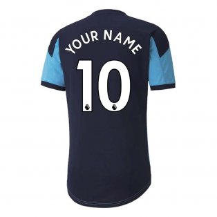 2020-2021 Manchester City Training Shirt (Light Blue) - Kids (Your Name)