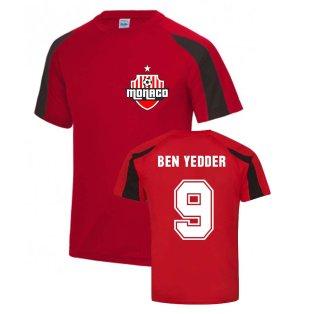 Wissam Ben Yedder Monaco Sports Training Jersey (Red)