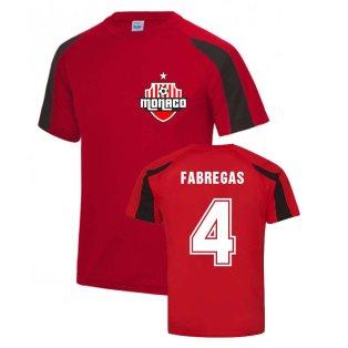Cesc Fàbregas Monaco Sports Training Jersey (Red)