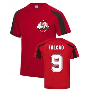 Radamel Falcao Monaco Sports Training Jersey (Red)