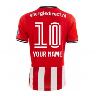 2020-2021 PSV Eindhoven Puma Home Shirt (Kids) (Your Name)