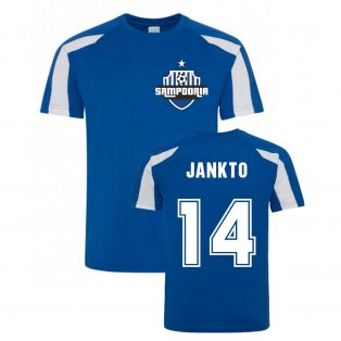 Jakub Jankto Sampdoria Sports Training Jersey (Blue)