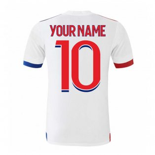 2020-2021 Olympique Lyon Adidas Home Football Shirt (Kids) (Your Name)