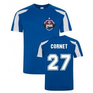 Maxwel Cornet Lyon Sports Training Jersey (Blue)
