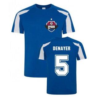 Jason Denayer Lyon Sports Training Jersey (Blue)