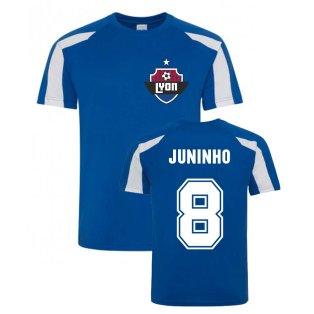 Juninho Lyon Sports Training Jersey (Blue)