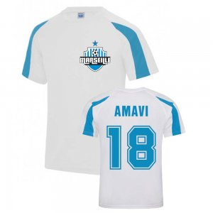 Jordan Amavi Marseille Sports Training Jersey (White)