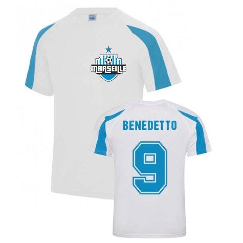 Darío Benedetto Marseille Sports Training Jersey (White)