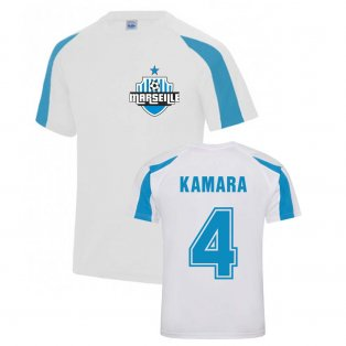 Boubacar Kamara Marseille Sports Training Jersey (White)