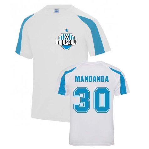 Steve Mandanda Marseille Sports Training Jersey (White)