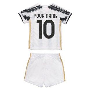 2020-2021 Juventus Adidas Home Baby Kit (Your Name)