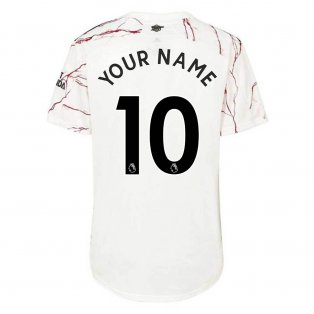 2020-2021 Arsenal Womens Away Shirt (Your Name)