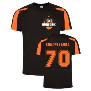 Yevgen Konoplyanka Donetsk Sports Training Jersey (Black)