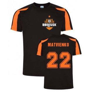 Mykola Matvienko Donetsk Sports Training Jersey (Black)