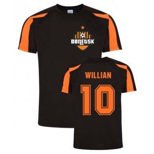 Willian Donetsk Sports Training Jersey (Black)
