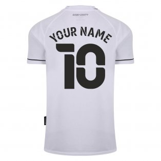 2020-2021 Derby County Home Football Shirt (Your Name)