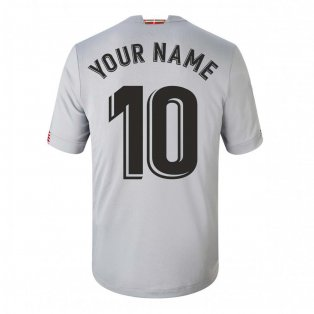 2020-2021 Athletic Bilbao Away Football Shirt (Your Name)