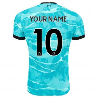 2020-2021 Liverpool Vapor Away Shirt (Your Name)