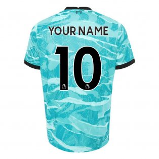 2020-2021 Liverpool Away Shirt (Kids) (Your Name)