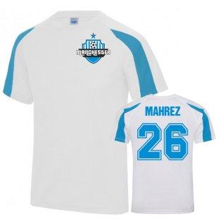 Riyad Mahrez Man City Sports Training Jersey (White)