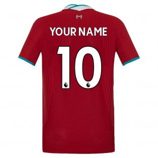 2020-2021 Liverpool Vapor Home Shirt (Kids) (Your Name)