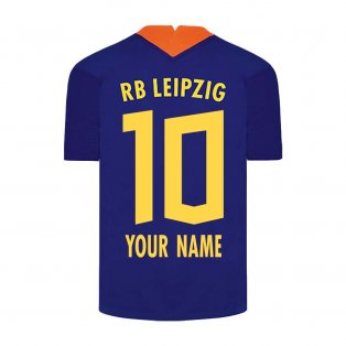 2020-2021 Red Bull Leipzig Away Nike Football Shirt (Your Name)